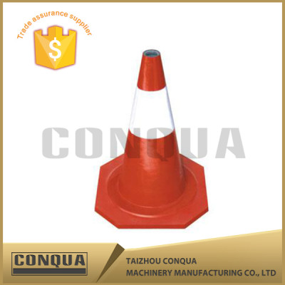 Flexible Collapsible Pvc rubber base Traffic Cone