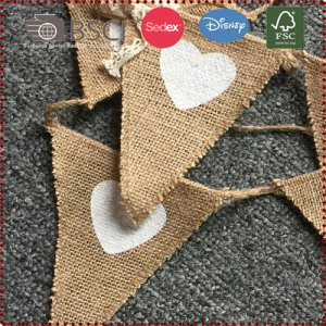 Vintage Linen Triangle Garland