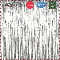 Foil Curtain Backdrop