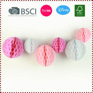 Wholesale 28g Tissue Paper Honeycomb Balls Set
