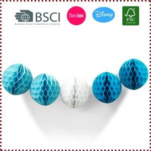 Tissue Paper Honeycomb Ball Set