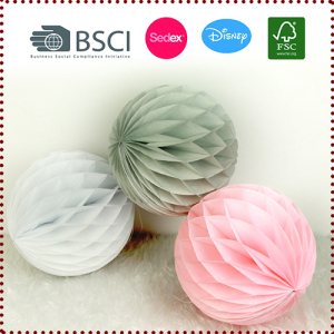 28g tissue paper honeycomb ball