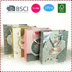 Wholesale Paper Gift Bags for Wedding Anniversary Valentines