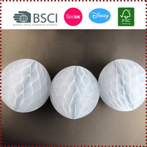 Tissue Paper Honeycomb Ball Set