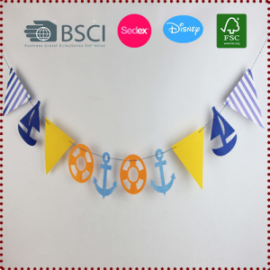 Nautical Bunting Banner