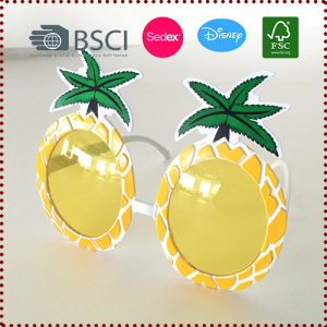 Pineapple Glasses Photo Props Summer Party Decorations