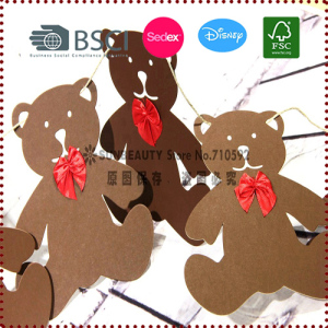 Adorable Bear Bunting Garland