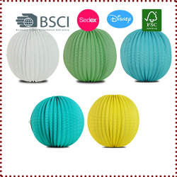 32cm Accordion Pleated Paper Lanterns