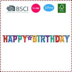 Happy Birthday Star Letter Banner