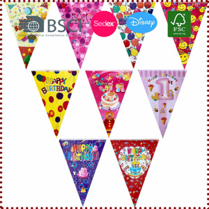 2.5m Happy Birthday Bunting