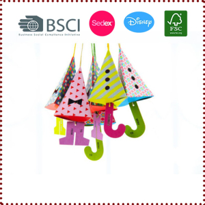 6pcs Hanging Umbrella Candy Box