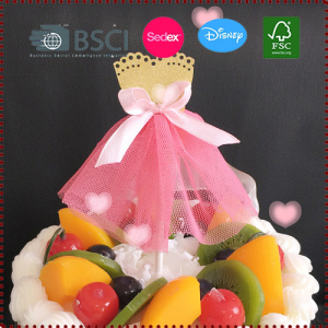 TuTu Dress Cupcake Toppers