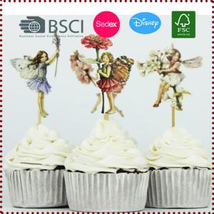 24pcs Cute Hananoko Lunlun Cupcake Topper