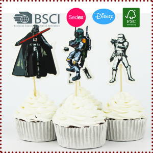 24pcs The Star Wars Cupcake Topper