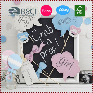 10pcs Baby Shower Photo Booth Props