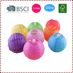 4 Inch 10cm Colorful Mini Chinese Paper Lanterns