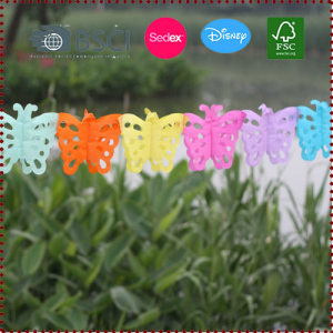 3m Colorful Butterfly Paper Garland