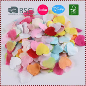 1Inch Heart Shaped Tissue Paper Confetti