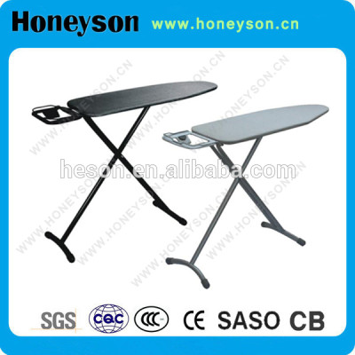 Hotel wall mounted metal mesh ironing board for hotel using