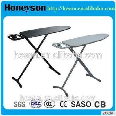 Stable ironing board for hotel guest room