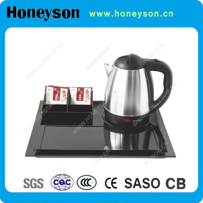 The best electric kettle tray set hotel supplier and manufacturer