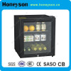 Commercial Glass Display Fridge with Glass Doors for Hotel