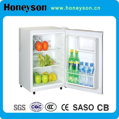 Honeyson Manufacturer hotel glass door led mini bar fridge light