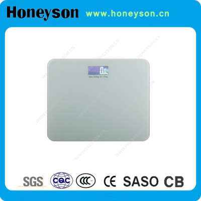 Automatic on /off adult weighing scale 200kg for hotel bathroom