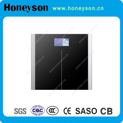 Smart weight scale Large LCD display with backlit for hotel bathroom