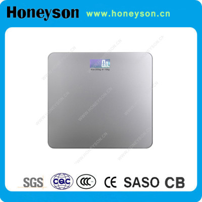 Honeyson hotel adult cool weight 150kg scale for bathroom