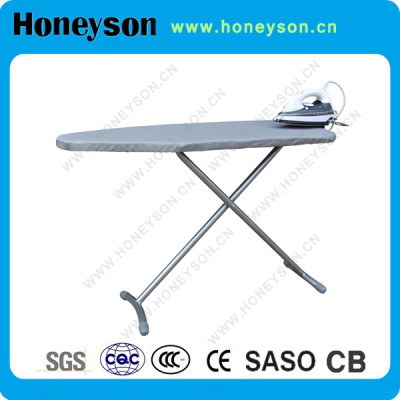 Strong Iron Tube Hotel Foldable Ironing Board Hanging Into Wardrobe