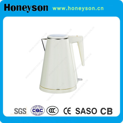 CE certification cordless kettle for hotel