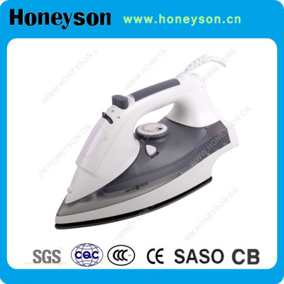 Teflon Soleplate Steam Iron with Self Cleaning Function