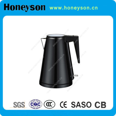 Honeyson profession hotel suppliers cordless 304 stainless steel kettle