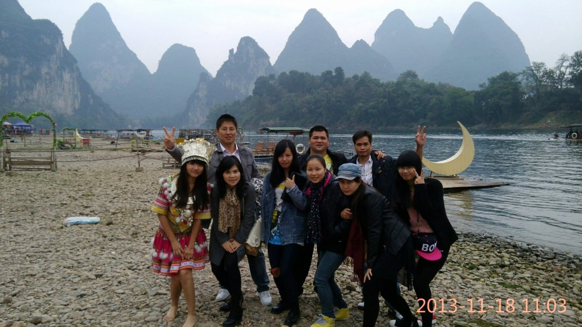 Gester life News Guilin Traveling