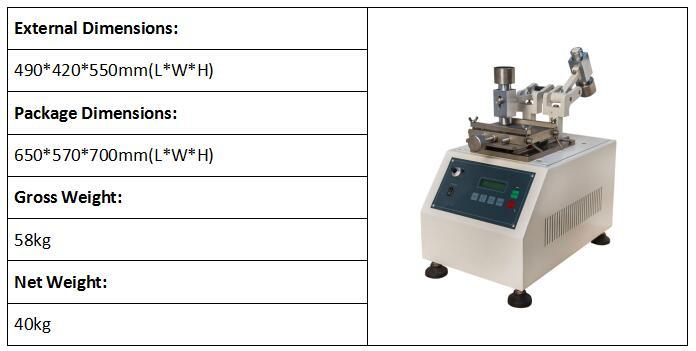 Leather Abrasion Tester