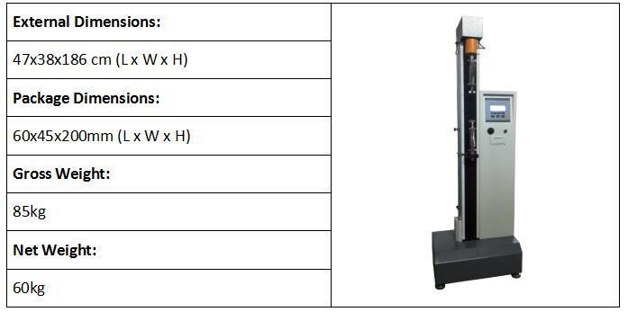 Computer Single Column Tensile Test Machine