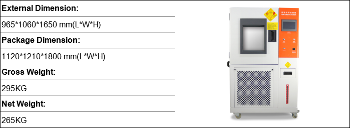 Programmable Temperature and Humidity Tester Chamber GT-C52