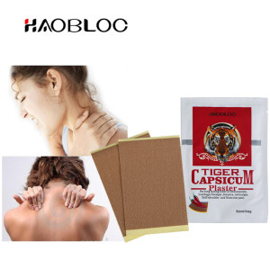 CE approved back pain relief tiger capsicum plaster