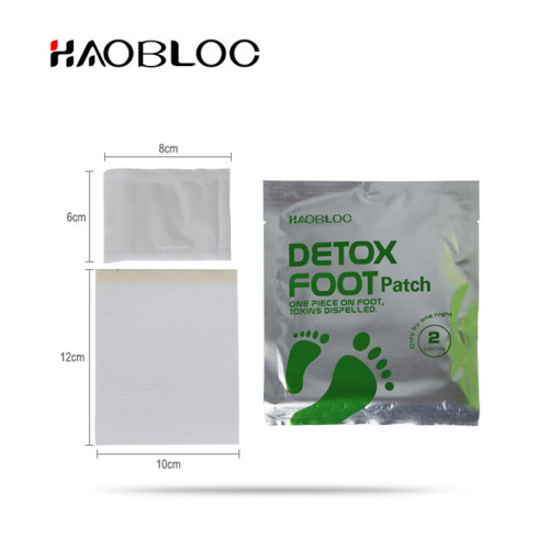 OEM private label japanese detoxing foot pads to remove toxins