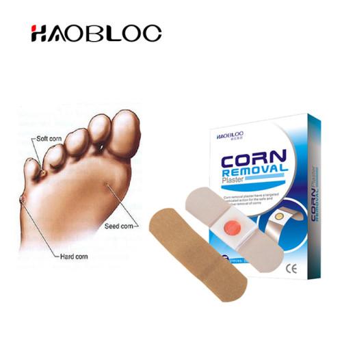 OEM Service Haobloc Footcare Corn Plasters Warts Remover