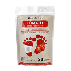 2018 new arrivals tomato royal detoxification foot detox patch