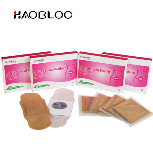 Direct Factory Personal Care Product Haobloc Menstrual Pain Heat Patch For Women