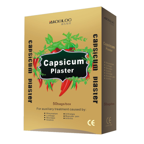 Alibaba online shopping porous capsicum plaster for back pain