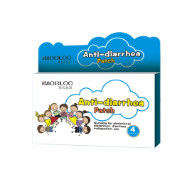 Popular OEM Product Haobloc Herbal For Kids Diarrhea Patch Treatment Wholesale