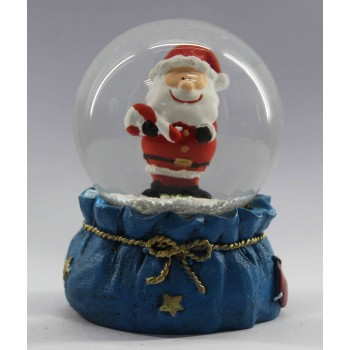 2016 christmas decoration of Santa Claus snowglobe