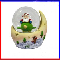 2016 christmas decoration of Funny Santa Claus snow globe