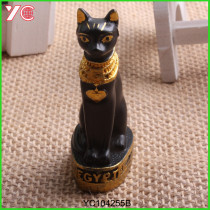 Resin Crafts Resin Cat Home Decor Egypt Cat Figurines