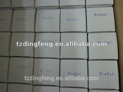 370 v ac running refrigerador anti-explosión condensador 25 uf