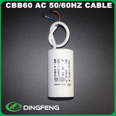 35 uf 450vac condensador cable blanco caja blanca elna condensador